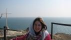 Elena, la Cap Kaliacra, vant puternic si rece!